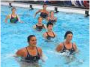 aquafit, gymnatisque en piscine, aquagym